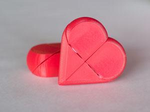 قلب سه بعدی