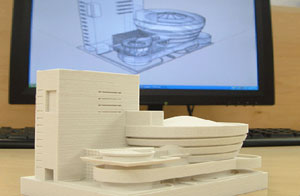 پرینترهای سه بعدی در معماری