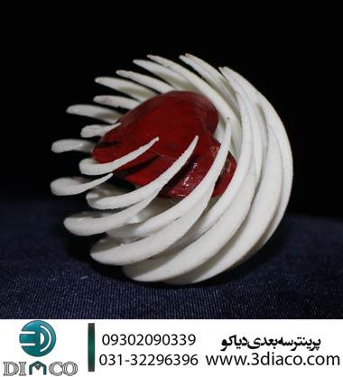 پرینت سه بعدی طرح قلب