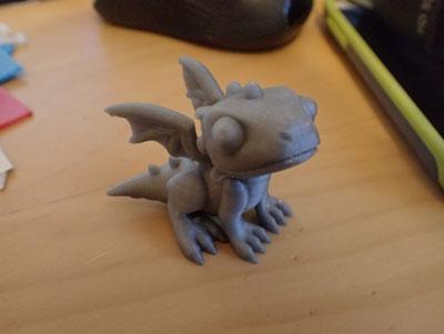 طرح سه بعدی دایناسور عروسکی