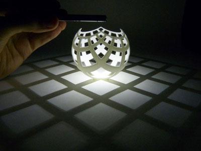 طرح سه بعدی ظرف رومیزی