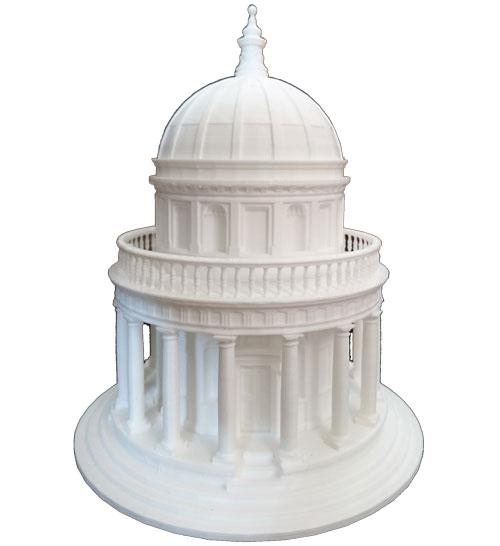 پرینت سه بعدی ماکت معماری