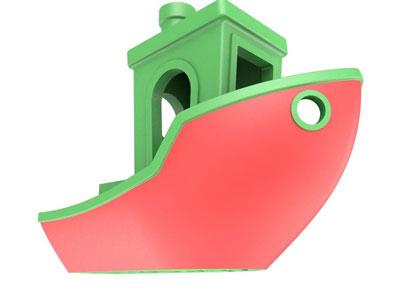 طرح سه بعدی کشتی اسباب بازی