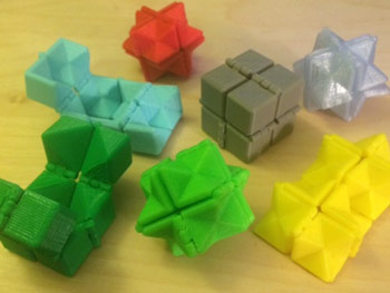 طرح سه بعدی روبیک – طرح پرینت پرینتر سه بعدی