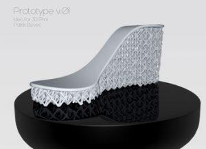 طرح سه بعدی لژ کفش