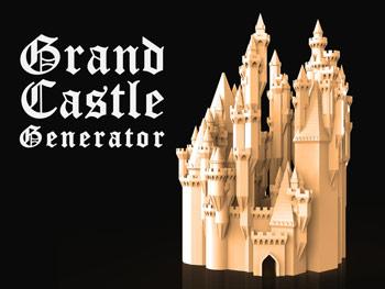 طرح سه بعدی قلعه