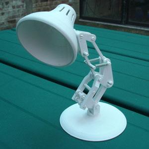 طرح سه بعدی چراغ مطالعه
