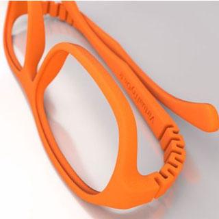 طرح سه بعدی عینک