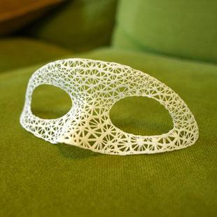 طرح سه بعدی ماسک