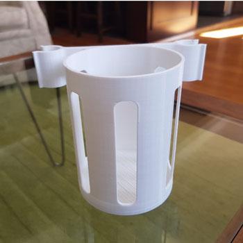 طرح سه بعدی نگهدارنده بطری