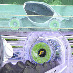 تایر چاپ شده ی سه بعدی