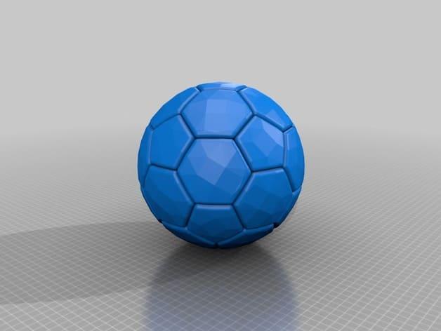 طرح سه بعدی توپ