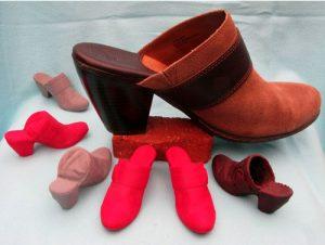 طرح سه بعدی کفش