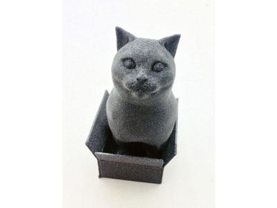 طرح سه بعدی گربه جعبه ای
