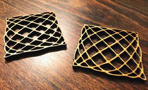 طرح سه بعدی زیر لیوانی
