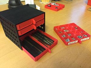 طرح سه بعدی جعبه ابزار