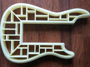 طرح سه بعدی گیتار
