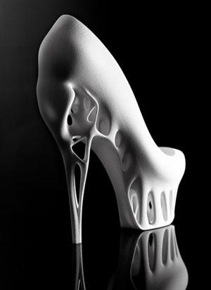 پرینت سه بعدی یک تکه کفش