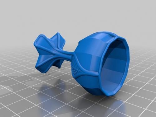 طرح سه بعدی جام