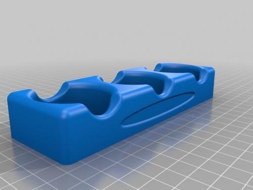 طرح سه بعدی شمعدان