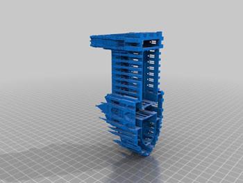 طرح سه بعدی ساختمان 2