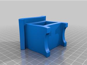 طرح سه بعدی دراور تک کشو